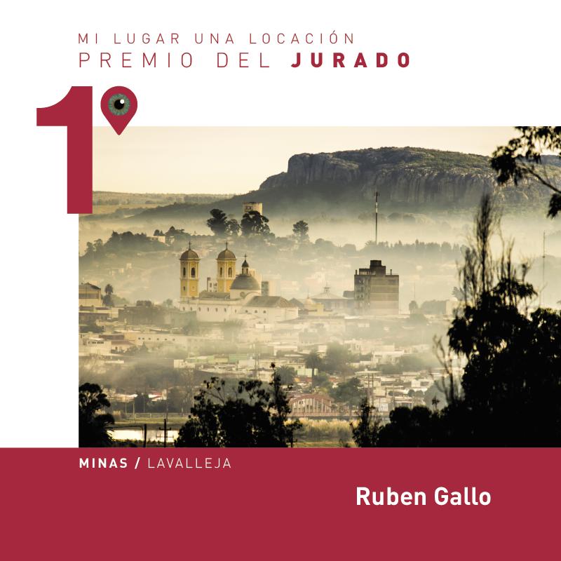 fotografía ganadora del premio del jurado. Ciudad de Minas, Lavalleja