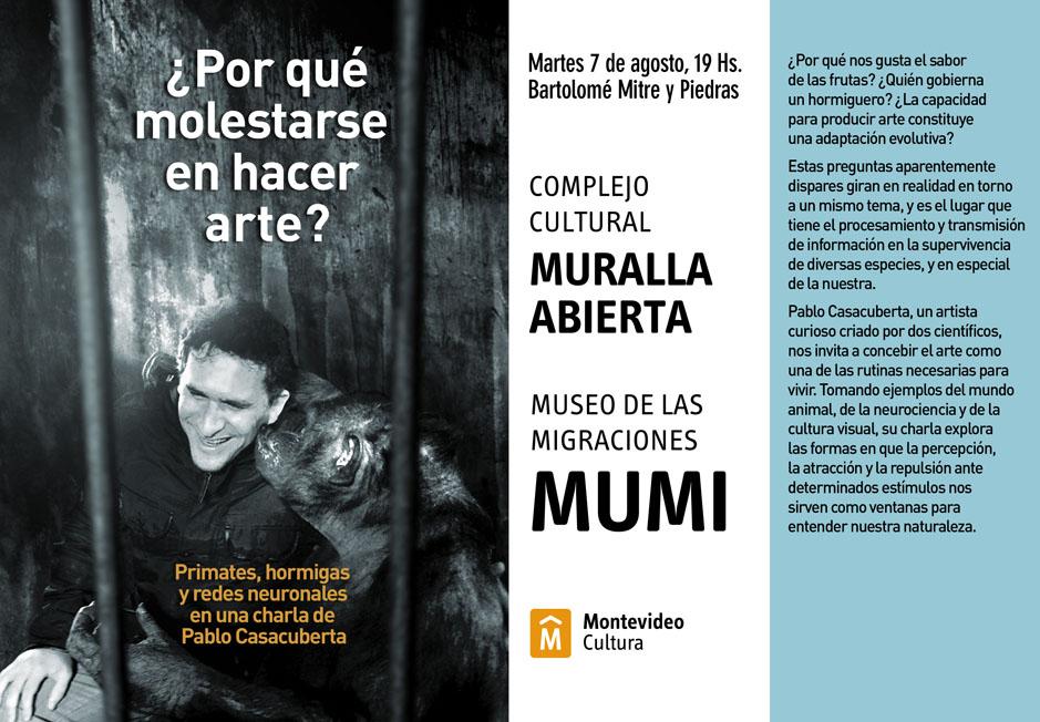 Charla de Pablo Casabuberta en el MUMI