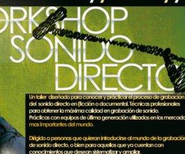 Taller Intensivo de Sonido directo para cine y tv