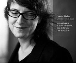 Master Class a cargo de Ursula Meier